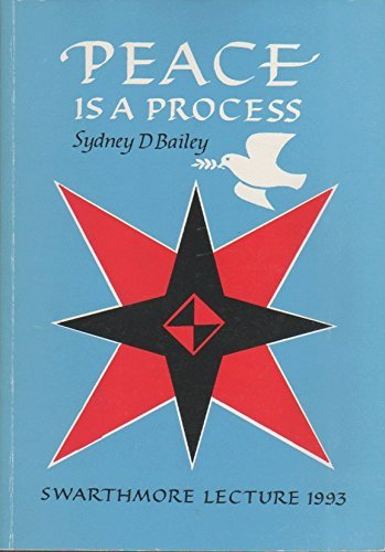 9780852452493: Peace is a Process (Swarthmore Lecture)