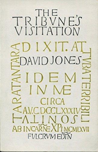 THE TRIBUNE'S VISITATION. (9780852460191) by David. Jones