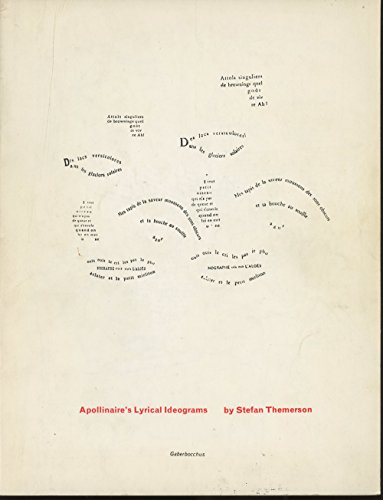 9780852471012: Apollinaire's Lyrical Ideograms