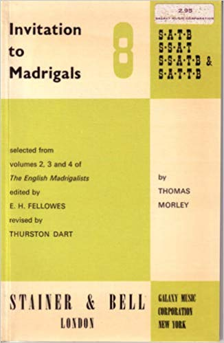 Invitation to Madrigals Vol. 8: Madrigals for: n/a