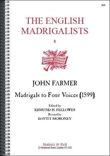 9780852494554: Madrigals for Four Voices (1599) (v. 8)