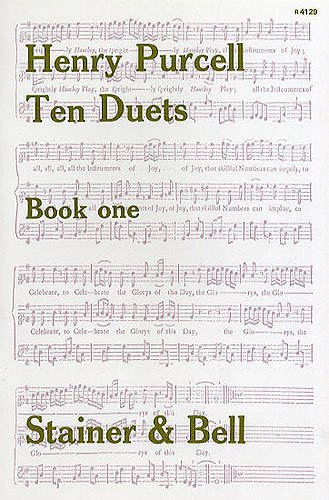 Ten Duets, Book One (Book I v. 25): Purcell, Henry
