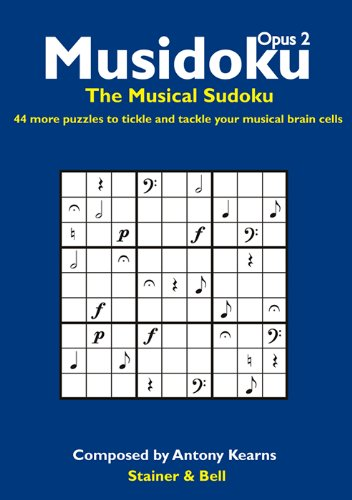 9780852499047: Musidoku Opus 2: The Musical Sudoku. 44 More Puzzles to Tickle and Tackle Your Musical Brain Cells