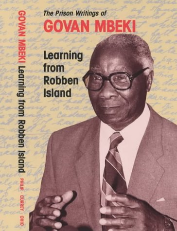 9780852553565: Learning from Robben Island: The Prison Writings of Govan Mbeki