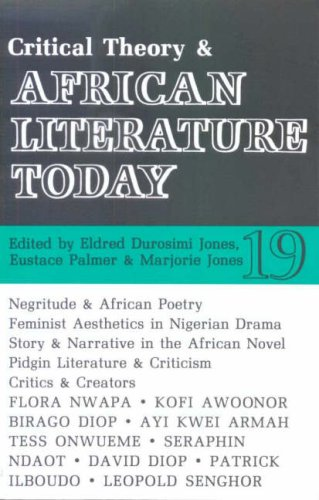 ALT 19 Critical Theory and African Literature: Eustace Palmer, Marjorie