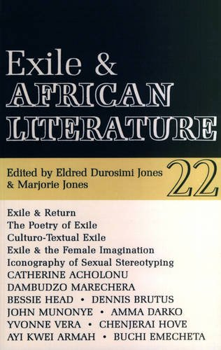 9780852555224: ALT 22 Exile and African Literature (African Literature Today)