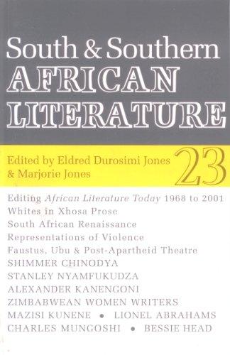 South & Southern African Literature: Eldred Durosimi Jones