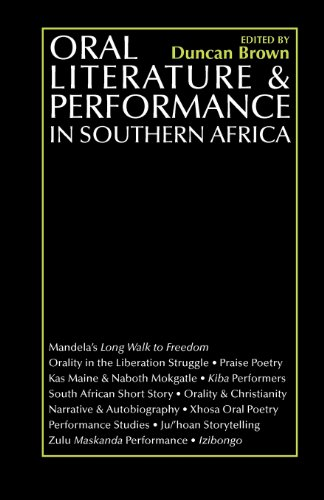 9780852555545: Oral Literature and Performance in Southern Africa