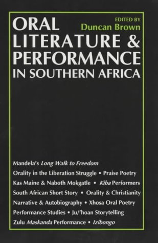 9780852555590: Oral Literature and Performance in Southern Africa