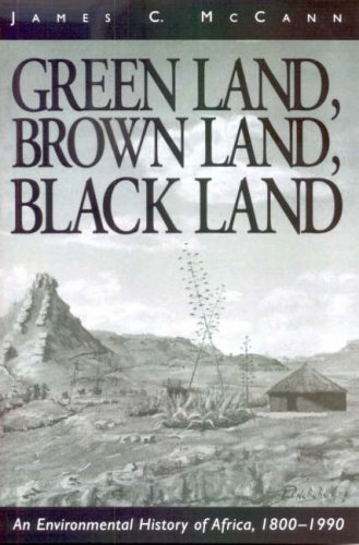 9780852557747: Green Land, Brown Land, Black Land: An Environmental History of Africa, 1800-1990