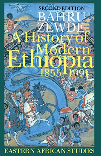 9780852557860: A History of Modern Ethiopia, 1855-1991: Updated and revised edition