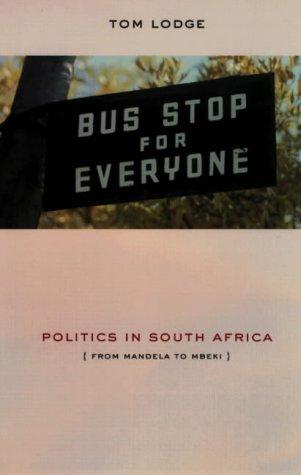 9780852558706: Politics in South Africa: From Mandela to Mbeki