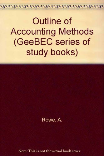 An Outline of Accounting Method