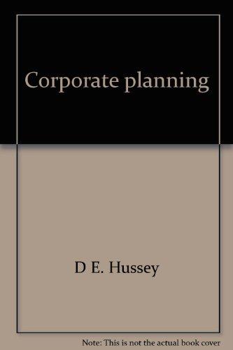 9780852588253: Corporate planning