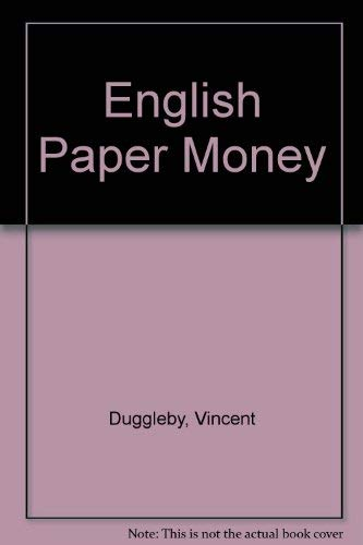 9780852590836: English Paper Money