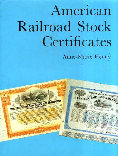 American Railroad Stock Certificates