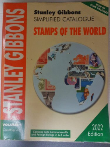 9780852595114: Simplified Catalogue of Stamps of the World: Countries A-D v. 1