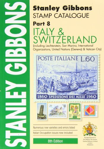 9780852598986: Italy &Switzerland Stamp Cat. Pt8
