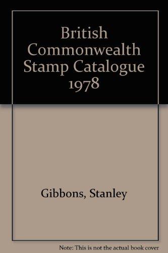 9780852599358: British Commonwealth Stamp Catalogue