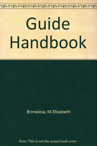 Guide Handbook (0852600208) by M.Elizabeth Brimelow