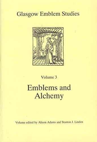 9780852616802: Emblems and alchemy (Glasgow emblem studies)