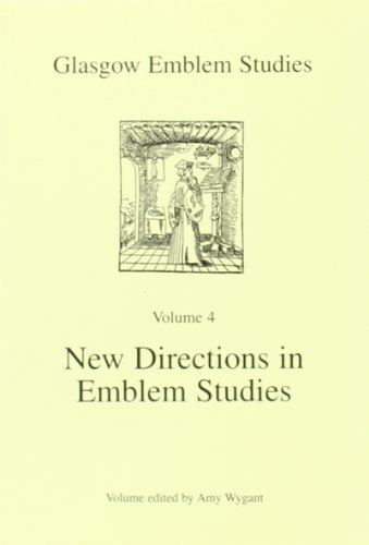 9780852616925: New Directions in Emblem Studies (Glasgow emblem studies)