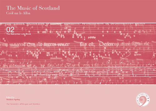 9780852618462: The Balcarres Lute Book (2 volume set) (Music of Scotland)