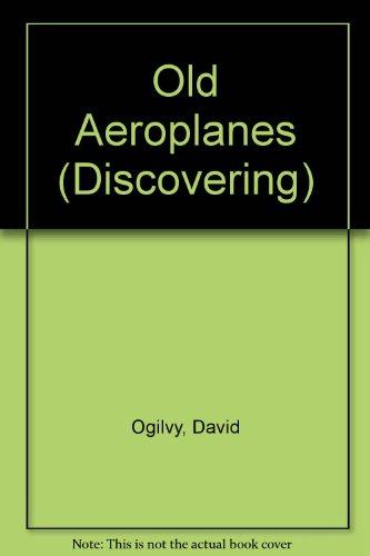 Discovering Old Aeroplanes: David Ogilvy