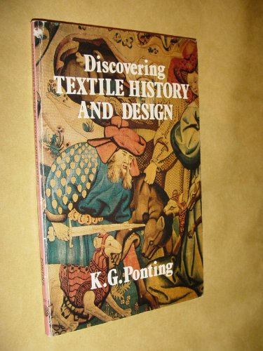 9780852635513: Textile History and Design (Discovering)