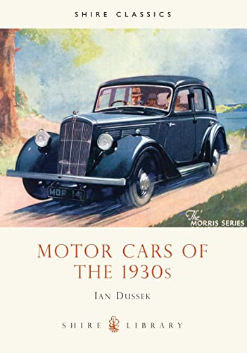 9780852639818: Motor Cars of the 1930s (Shire Library)