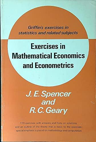 9780852642269: Exercises in Mathematical Economics and Econometrics