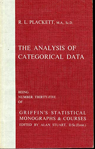 9780852642283: The analysis of categorical data (Griffin's statistical monographs and courses)