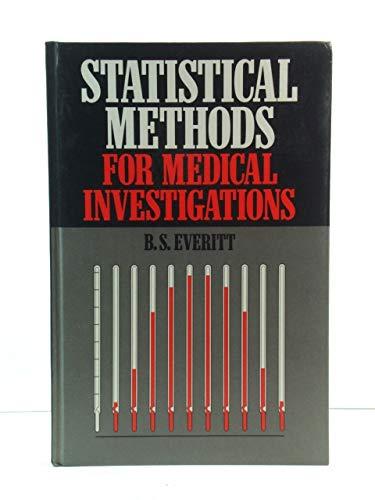 9780852643129: Statistical Methods for Medical Investigations
