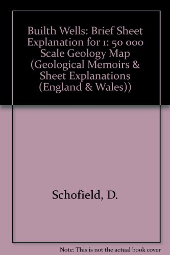 9780852724934: Builth Wells: Brief Sheet Explanation for 1: 50 000 Scale Geology Map (Geological Memoirs & Sheet Explanations (England & Wales))