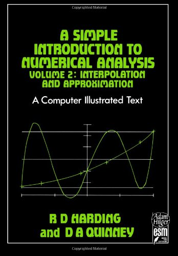 9780852741542: A Simple Introduction to Numerical Analysis: Volume 2: Interpolation and Approximation: 002
