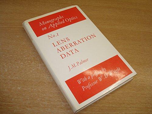 9780852741603: Lens Aberration Data (Monographs on Applied Optics)