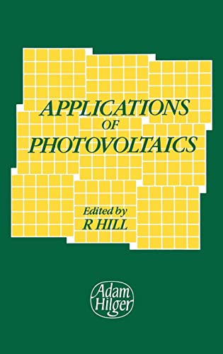 9780852742778: Applications of Photovoltaics: Conference Proceedings