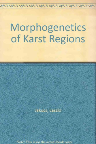 9780852743096: Morphogenetics of Karst Regions: Variants of Karst Evolution