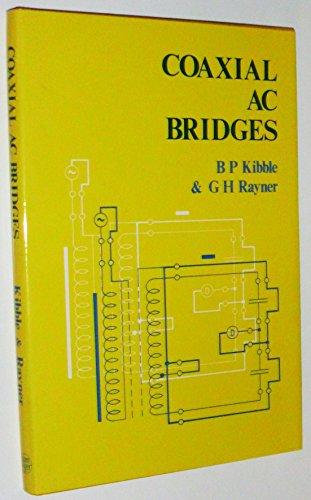 9780852743898: Coaxial AC Bridges,