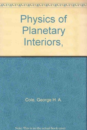 9780852744444: Physics of Planetary Interiors,