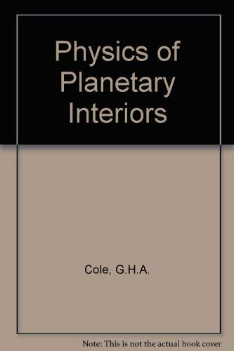 9780852744451: Physics of Planetary Interiors,
