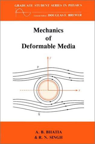 Mechanics of Deformable Media.: Bhatia, A B ; Singh, R N