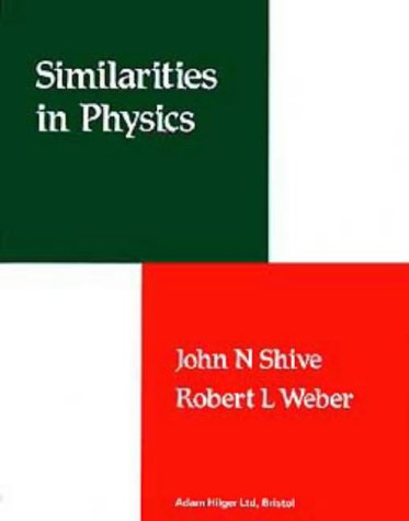 9780852745403: Similarities in Physics,