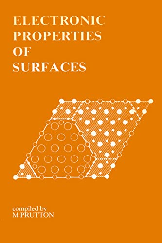 9780852747735: Electronic Properties of Surfaces