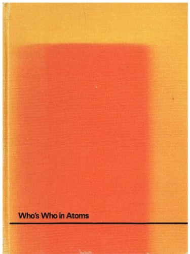 9780852802014: Who's Who in Atoms