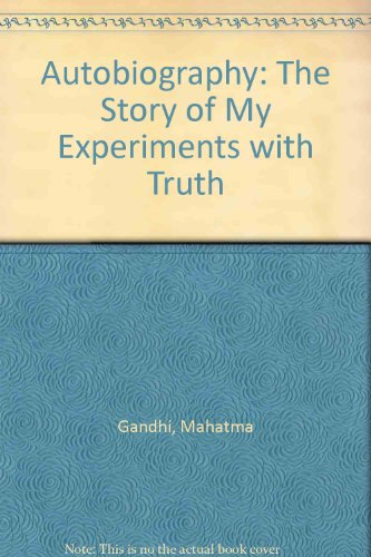9780852830710: Autobiography: The Story of My Experiments with Truth