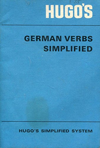 German Verbs Simplified (9780852850015) by Hugo's Language Institute