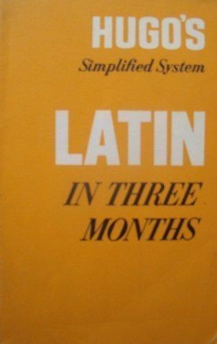 9780852850527: Latin in Three Months: w. Key