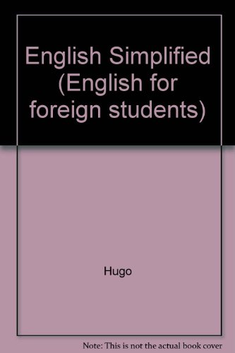 9780852851258: English Simplified (English for foreign students)