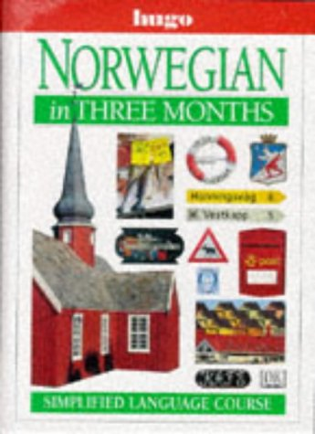 9780852853443: Norwegian in Three Months (Hugo)